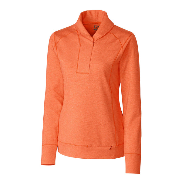Ladies DryTec Shoreline Half-Zip Mock Sweater