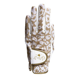 Uptown Cheetah Leather Golf Glove Glove