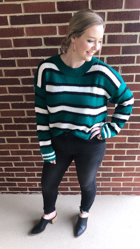 """Jax"" Sweater, Green"