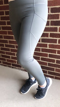 """Millie"" Leggings, Gunmetal"