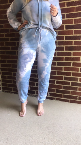 """Kendall"" Joggers, Blue"