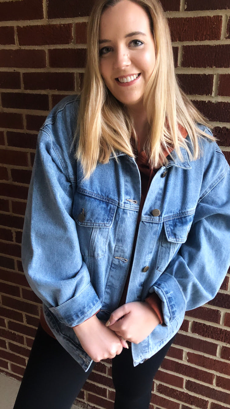 """Emme"" Jacket, Denim"