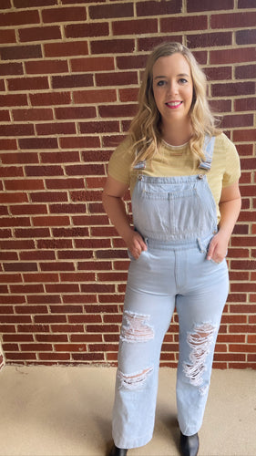 """Les"" Overalls, Denim"