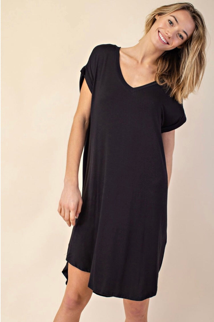 """Junie"" Dress, Black"