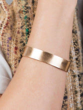 """Kyra"" Bangle, Rose Gold"