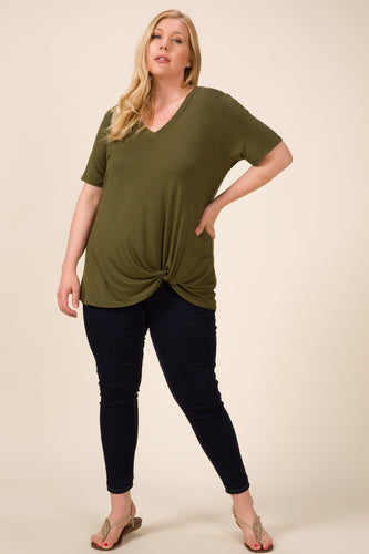 """Cole"" Top, Olive"