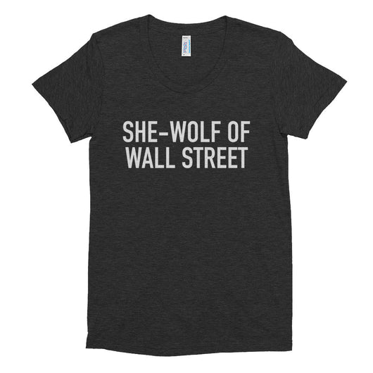 She-Wolf of Wall Street Tee