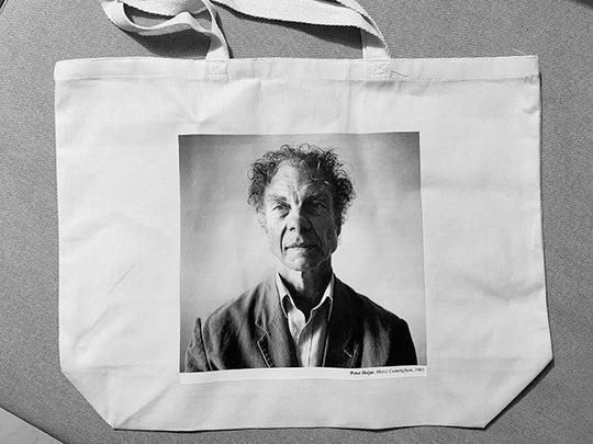 Merce Cunningham / Peter Hujar tote bag