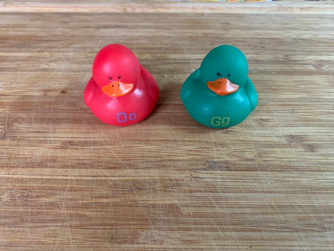 Solid Color Ducky Soaps