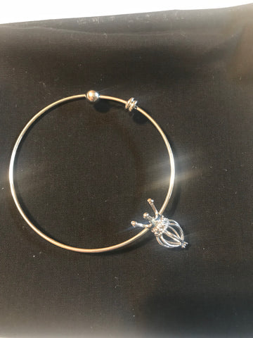 Charm Bracelet (silver plated)