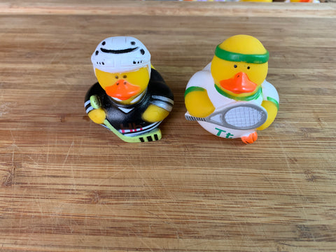 Sports Ducky Soaps
