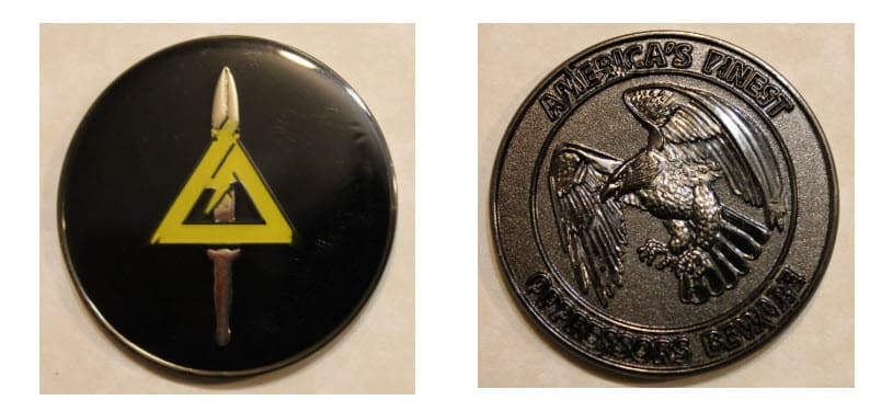 Delta Force challenge coin
