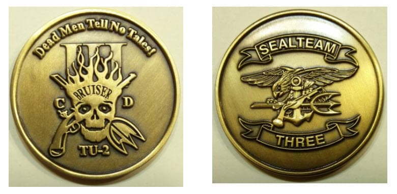 Seal team six challenge coin