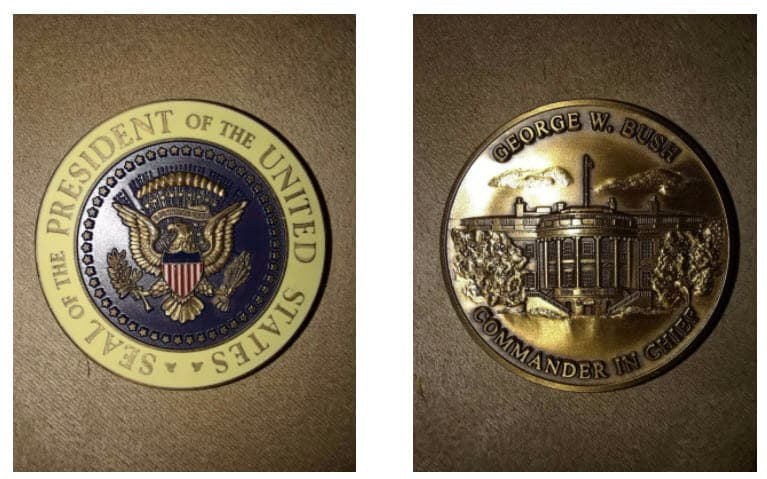 George Bush Challenge Coin