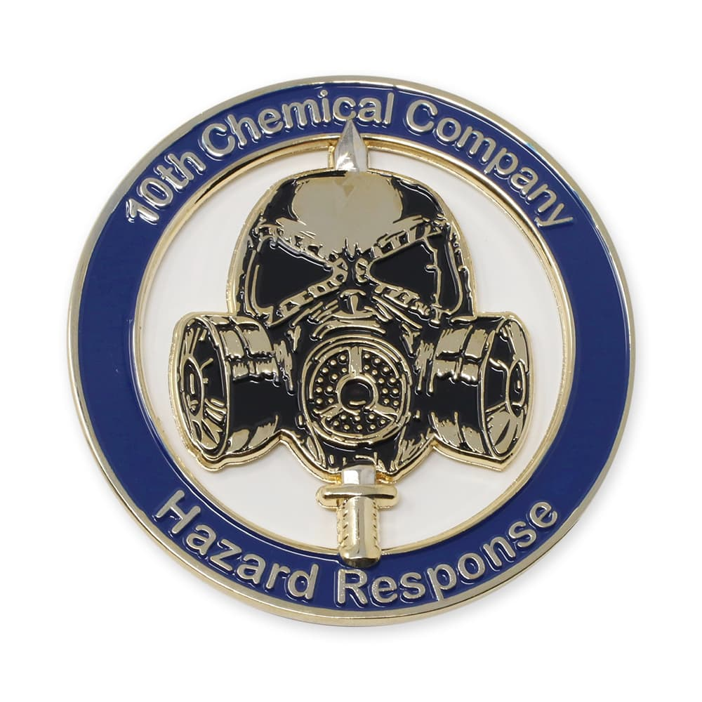 10th chemical company challenge coin