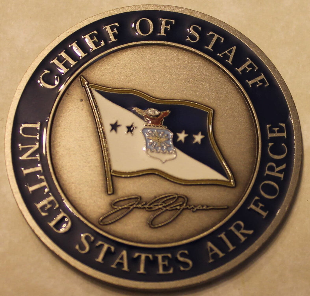 Air Force challenge coin from Secretary of the Air Force