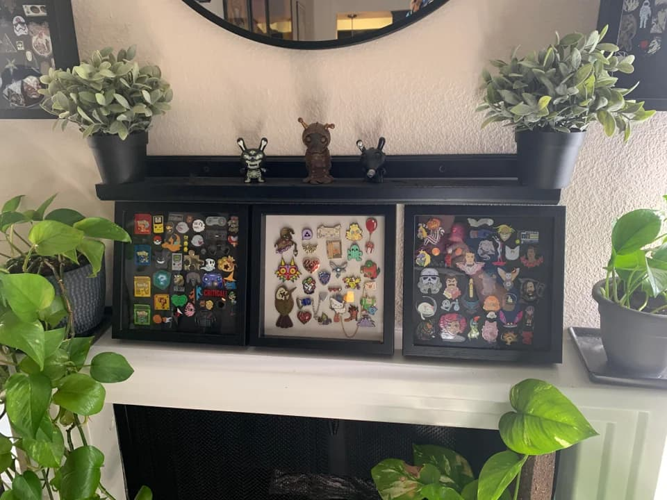 multiple shadow box displays