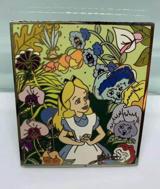 Alice in Wonderland pin