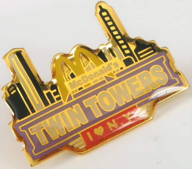 McDonald's New York pin