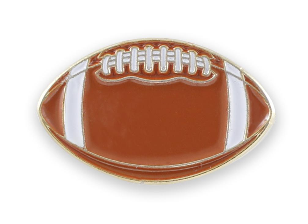 Football Enamel Pin