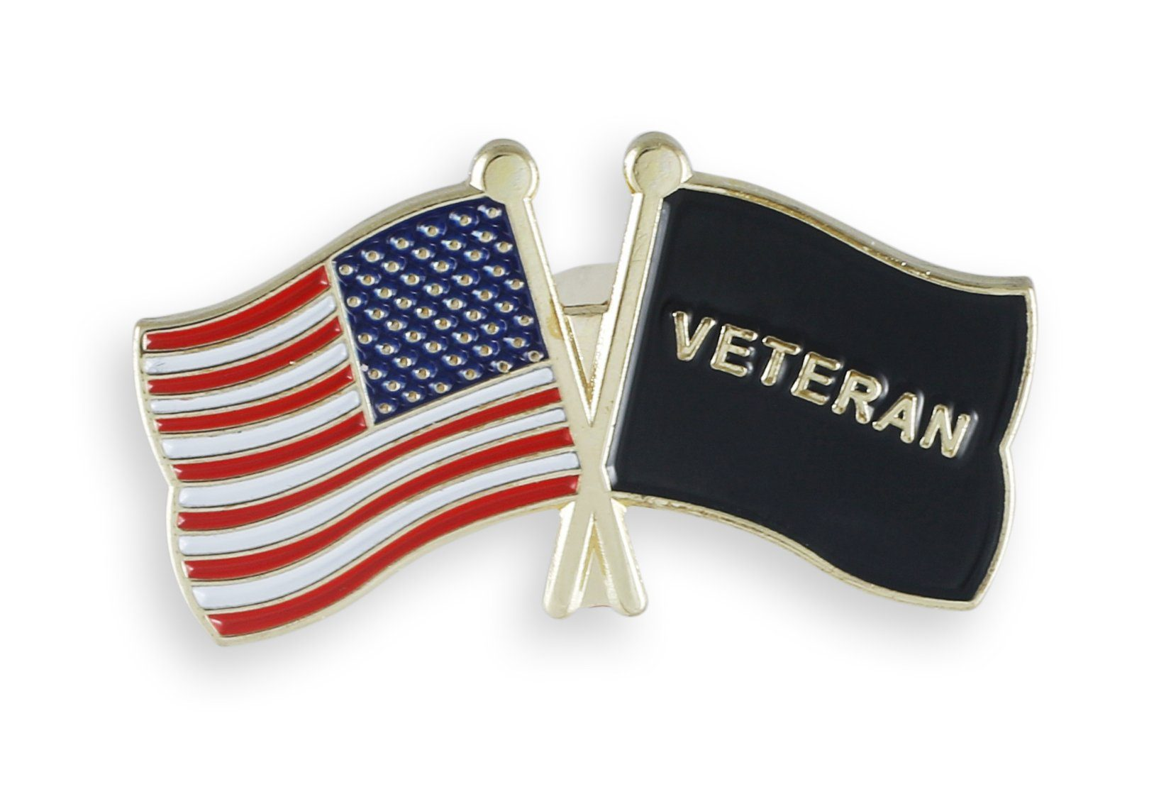 American Flag x Veteran Pin