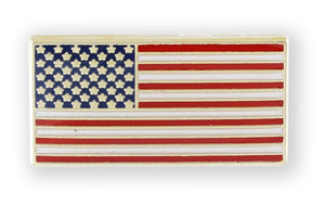 American Flag Pin with Magnetic Back