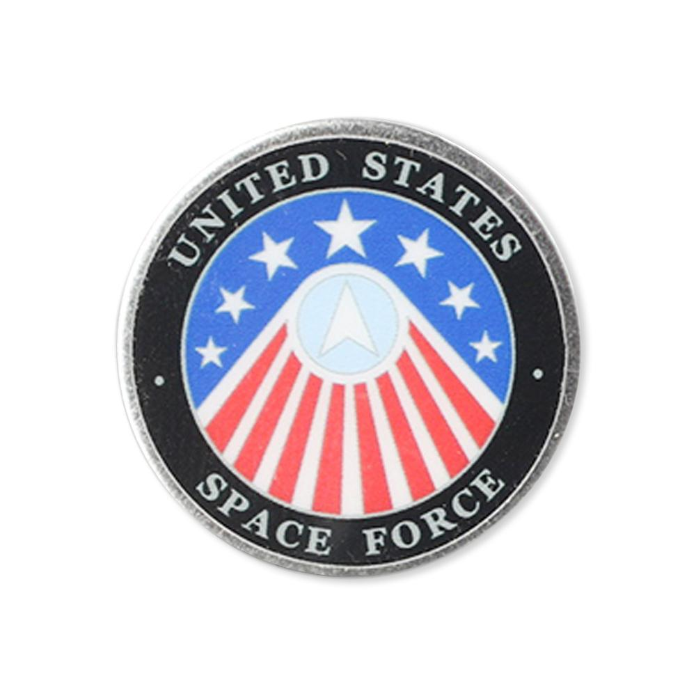 Made in America United States Space Force Printed Lapel Pin