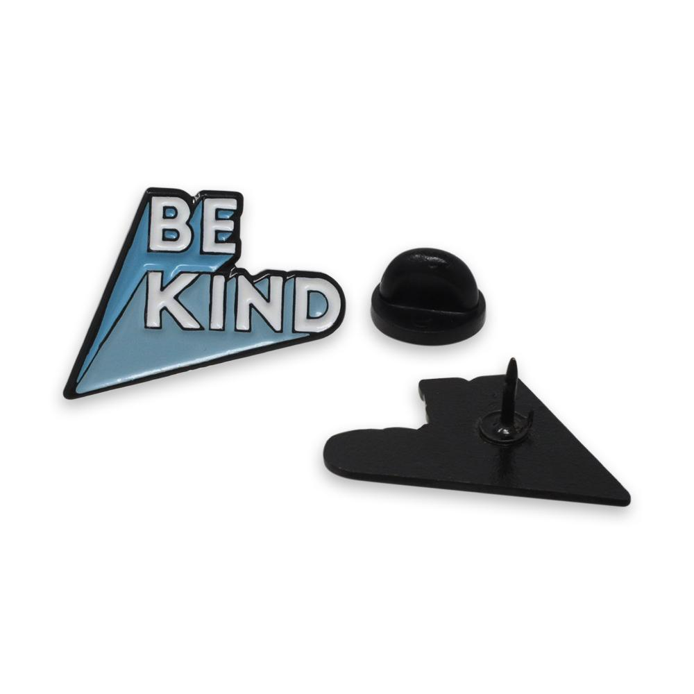 Be Kind 3D Letters Enamel Pin