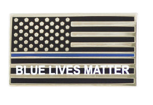 Blue Lives Matter Lapel Pin