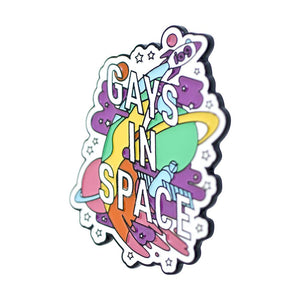 Gays in Space Pin