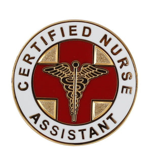 Certified Nurse Assistant CNA Lapel Pin