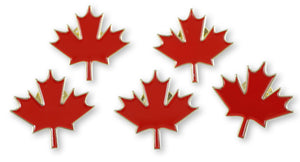 Canadian Maple Leaf Lapel Pin