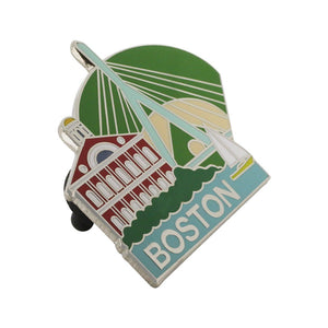 Boston Faneuil Hall Fenway Park Bay Souvenir Pin