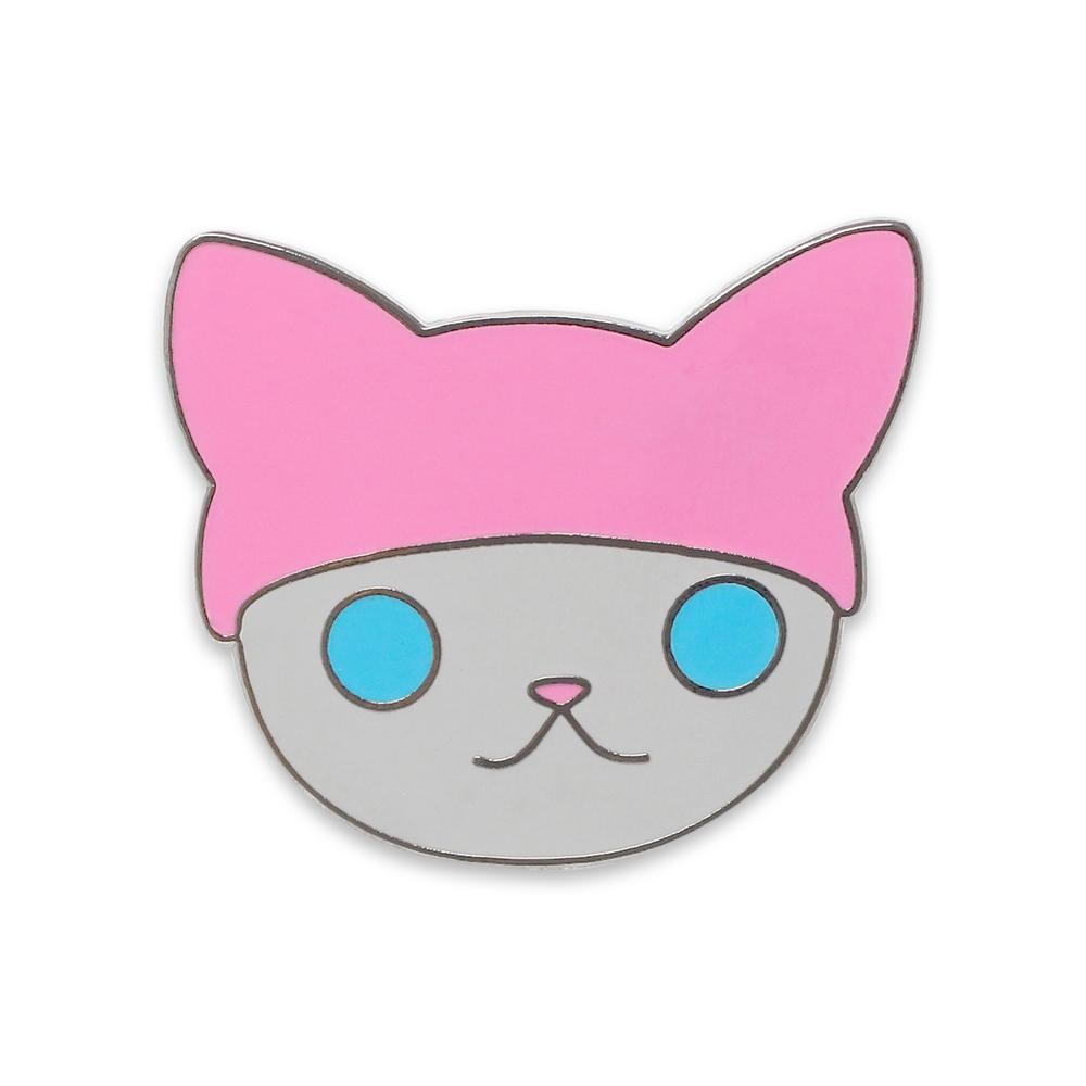 Feminism Cat Hat Enamel Pins