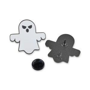 Ghost Emoji Enamel Lapel Pin