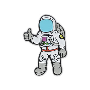 Astronaut Space Suit Thumbs Up Enamel Lapel Pin