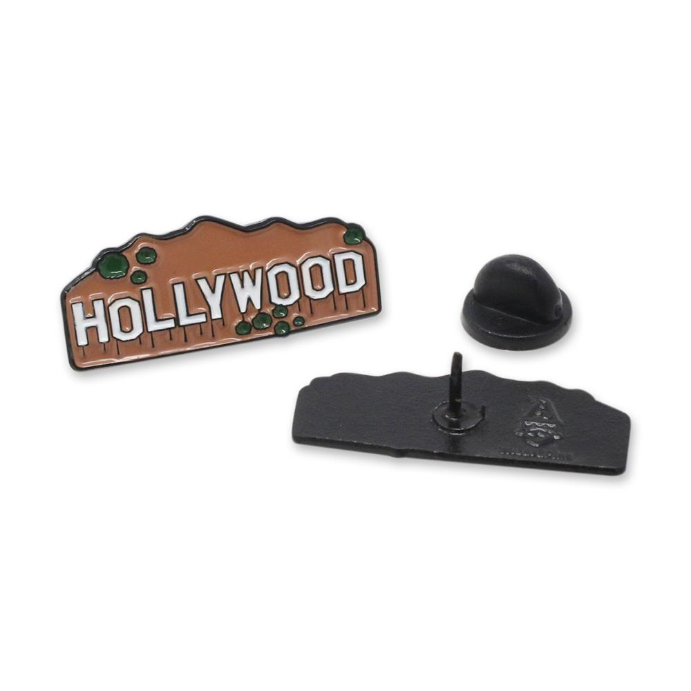 Hollywood Sign Enamel Pin