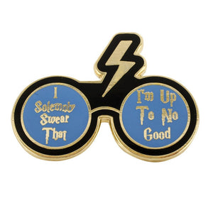 I Solemnly Swear Lightning Bolt & Glasses Pin