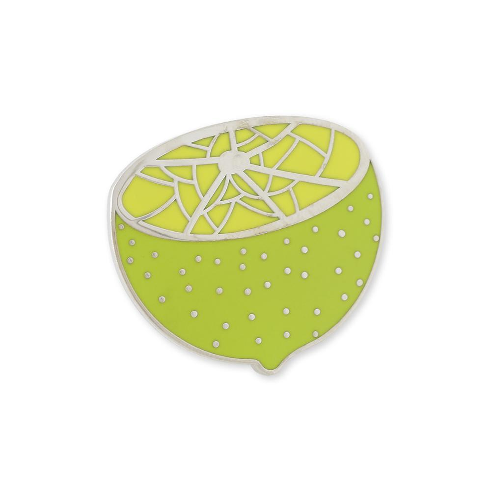 Lime Hard Enamel Lapel Pin