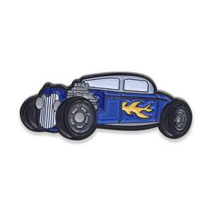 Matchbox Car Hot Rod Hard Enamel Lapel Pin