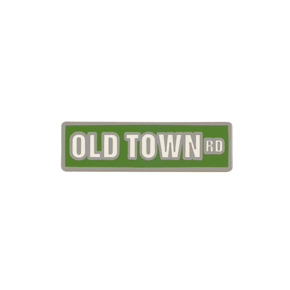 Old Town Road Sign Hard Enamel Pin