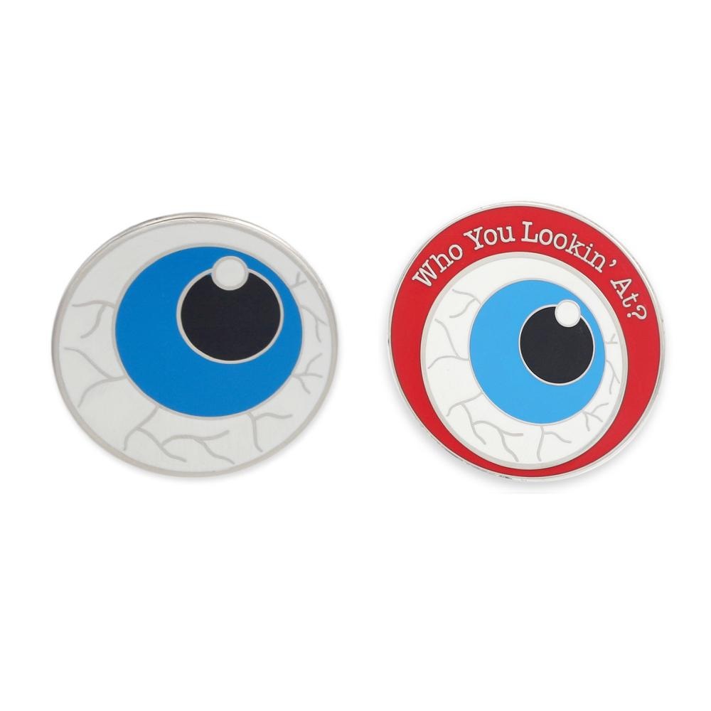 Organ Pins Eye Hard Enamel Lapel Pin