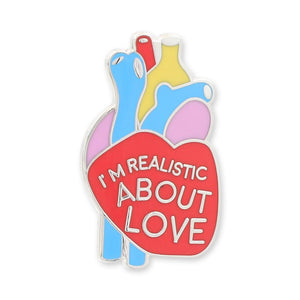 Organ Pins Heart Hard Enamel Lapel Pin