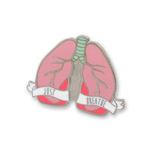 Organ Pins Lungs Hard Enamel Lapel Pin