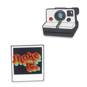Polaroid Enamel Pin Set