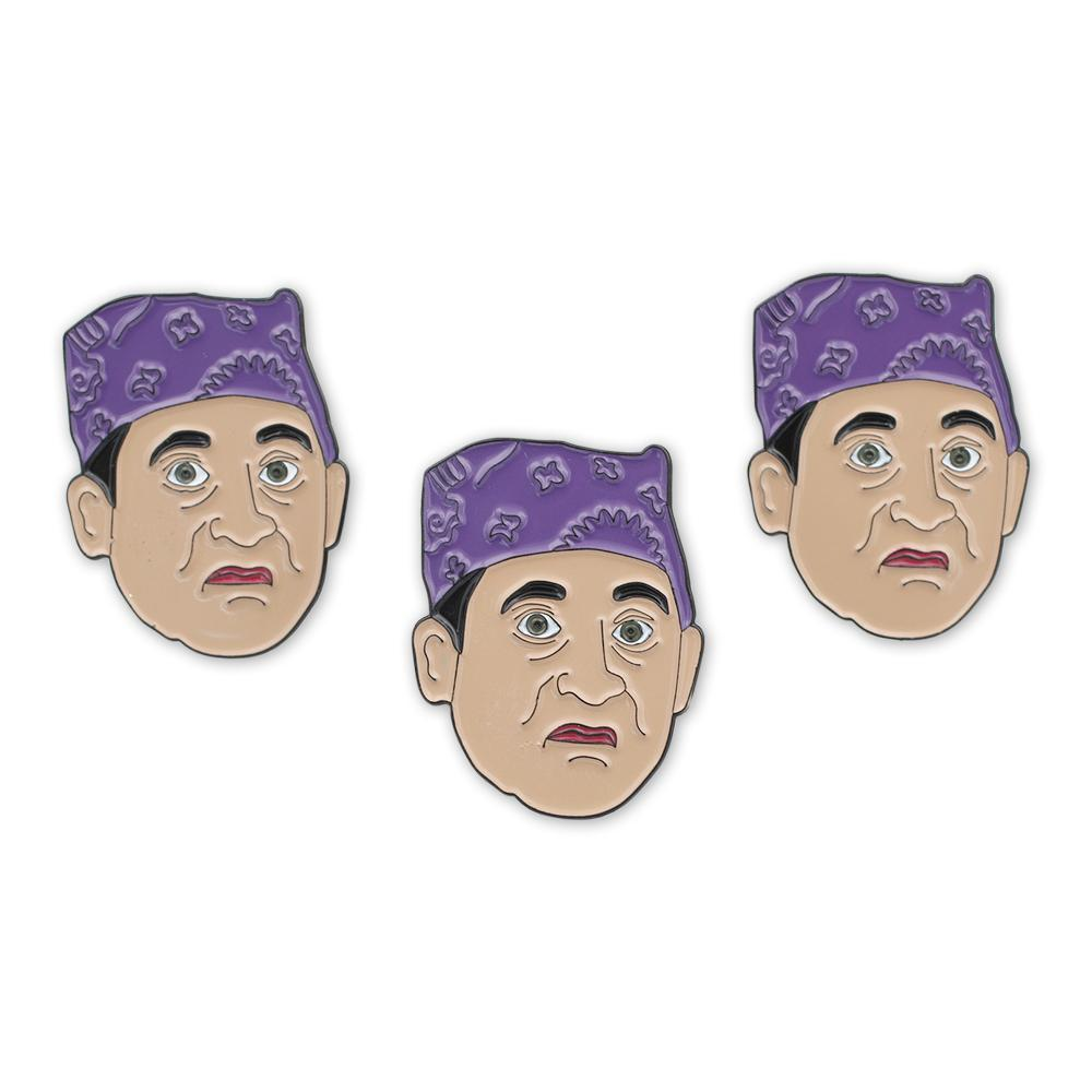 Prison Mike Office Enamel Lapel Pin