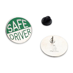 Safe Driver Hard Enamel Lapel Pin