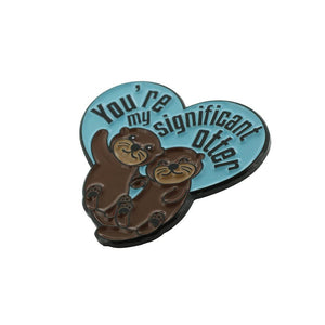 You're My Significant Otter Lapel Pin