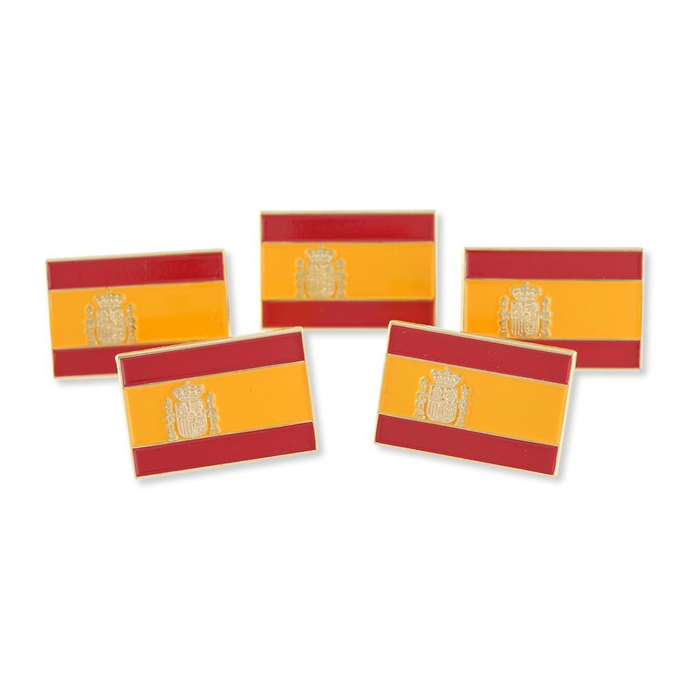 Spanish Flag Spain Enamel Lapel Pin