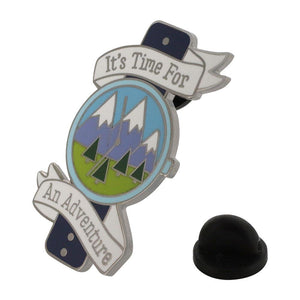 It's Time for an Adventure Enamel Pin